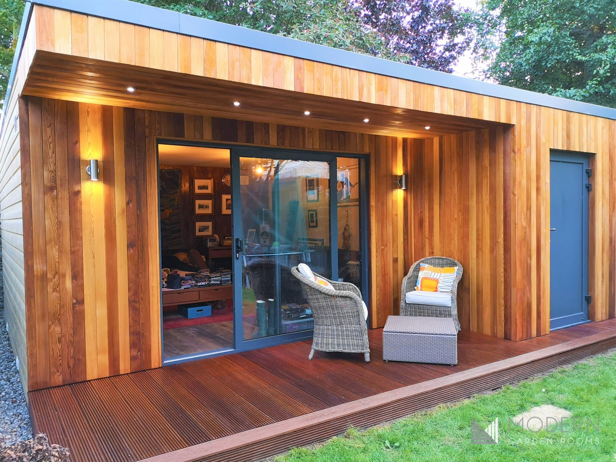 modern garden rooms garden pod garden office seomra